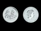 Moneda de argint Australia Dog 5 oz