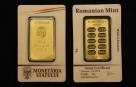 Lingou de aur 50 grame Monetaria Statului