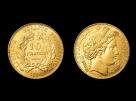 Moneda de aur 10 Franci - la comanda