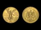 Moneda de aur 50 Pesos - la comanda