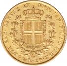 Moneda de aur 20 Lire - la comanda