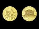 Moneda de aur 1/4 oz Philharmoniker