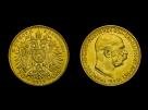 Moneda de aur 10 Coroane - la comanda