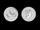 Moneda de argint Australia Rooster 10 Oz