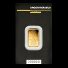 Lingou de aur 5 grame Argor Heraeus