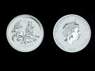 Moneda de argint Australia Dog 2 oz