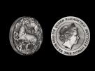 Moneda de argint Australia Unicorn 2 oz - la comanda
