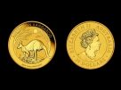 Moneda de aur 1/4 oz Kangaroo