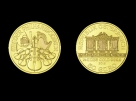 Moneda de aur 1/2 oz  Philharmoniker