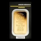 Lingou de aur 100 grame Argor Heraeus