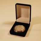 Cutie Moneda cu 2 diametre neagra