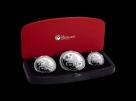 Set 3 monede argint Australia Year of the Dog