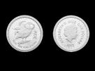 Moneda de argint Bufnita 1/4 Oz