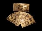 Set de bancnote US Dolars aurite