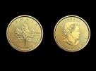 Moneda de aur 1/4 oz Maple Leaf