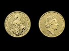 Moneda de aur 1/4 oz The Queen s Beasts - The Unicorn