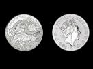 Moneda de argint United Kingdom Dog 1 oz