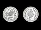 Moneda de argint Bufnita 1 oz