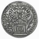 10 Kreuzer 1765 Praga