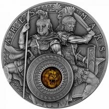 Ares & Mars 2 oz Silver High Relief - la comanda