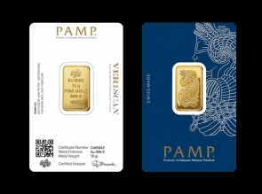 Lingou de aur 10 grame PAMP