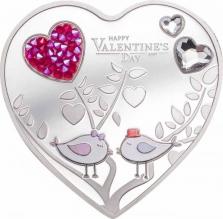 Moneda de argint Happy Valentine s Day 2021