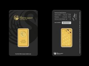 Lingou de aur 20 grame Perth Mint