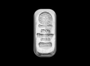 Lingou de argint 250 grame Argor Heraeus
