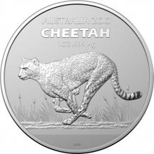 Moneda de argint 1 oz Cheetah