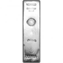 Lingou de argint 5000g   Heraeus