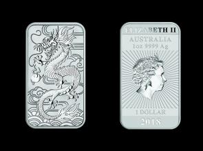 Moneda de argint  Dragon