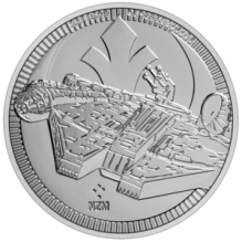 Moneda de argint Millennium Falke 1 oz