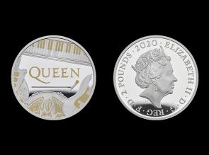 Moneda de argint aniversara QUEEN 1oz