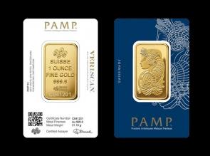 Lingou de aur 1 oz Pamp