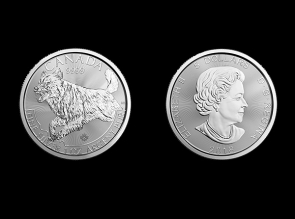 Moneda de argint Canada  Lup 1 Oz