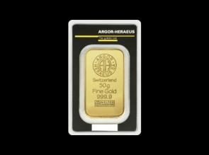 Lingou de aur 50 grame Argor Heraeus