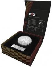 Moneda de argint AC/DC 1 oz - la comanda