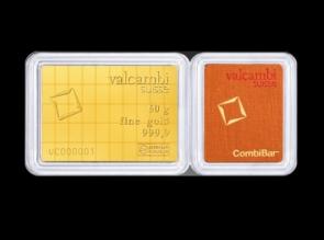 Lingou CombiBar 50 x 1g Valcambi - la comanda