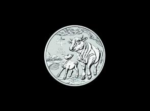 Moneda de argint Australia Ox 1 oz
