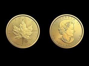 Moneda de aur 1 oz Maple Leaf - la comanda