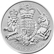 Moneda de argint The Royal Arms