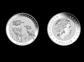 Moneda de argint Australia Kookaburra 1 Oz