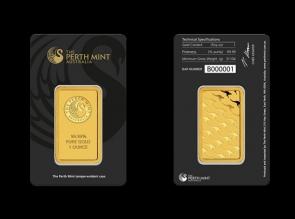 Lingou de aur 1 oz Perth Mint