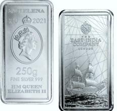 Lingou de argint 250g - Saint Helena