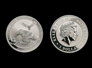 Moneda de argint Wedge Tailed Eagle