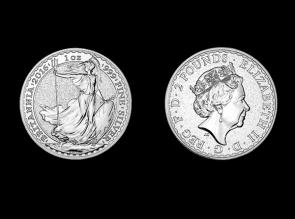 Moneda de argint Britannia 1 Oz