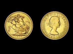 Moneda de aur Sovereign