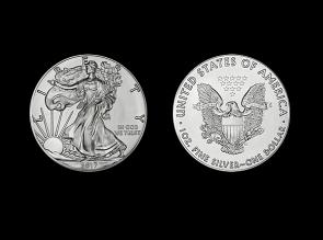 Moneda de argint American Eagle 1 Oz