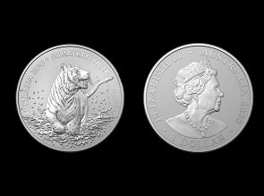 Moneda de argint Tigru Sumatra
