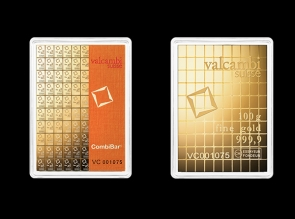 Lingou de aur CombiBar 100 x 1g Valcambi - la comanda